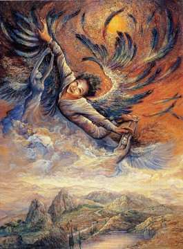 JW saving of icarus Fantasy Oil Paintings
